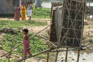 An unhygienic latrine in Dhaka, Bangladesh. photo: WaterAid, Abir Abdullah
