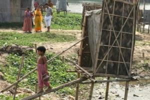 An unhygienic latrine in Dhaka, Bangladesh. photo: WaterAid, Abir Abdullah