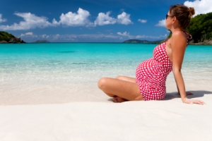 Pregnancy increases the risk of traveling