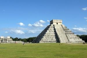 The Mayan pyramid at Chichen Itza in the Yucatan