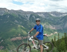 Mountain biking, Colorado